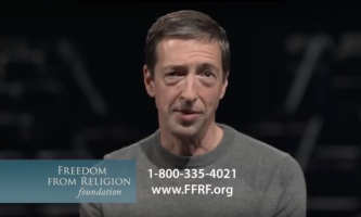 0171. Ron Reagan Jr.'s Commercial for the Freedom from Religion Foundation – Dr. Frank Beckwith, 1/17/20